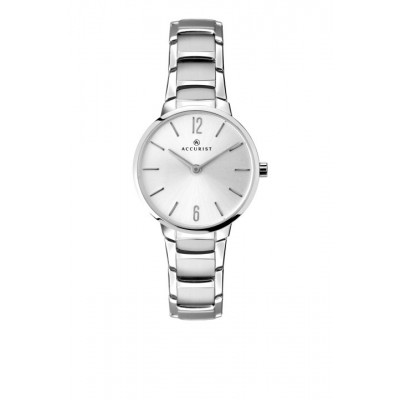 CHROME PLATED SILVER COLOUR DIAL