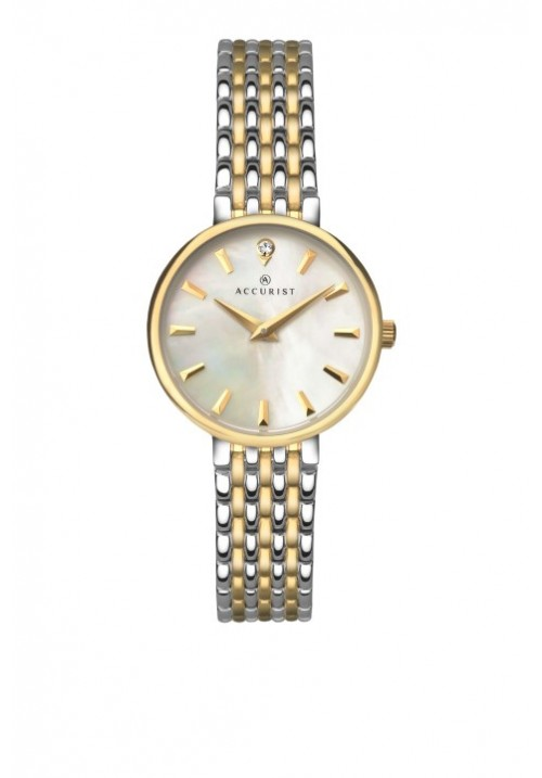 TWO TONE MOTHER OF PEARL DIAL