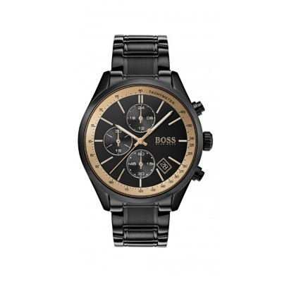 GRAND PRIX BLACK BRACELET CHRONOGRAPH