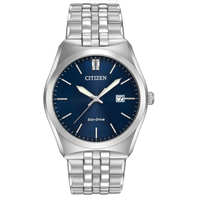 CORSO BLUE DIAL STAINLESS STEEL BRACELET WR 100