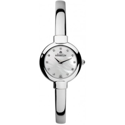 STAINLESS STEEL SALAMBO BANGLE WATCH