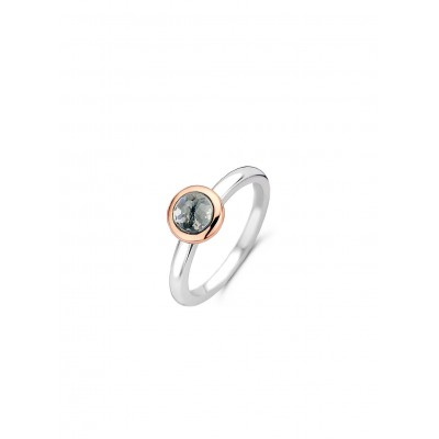 GREY ROSE GOLD RING