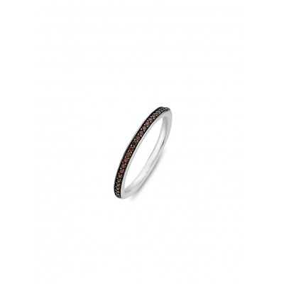 BROWN CRYSTAL RING