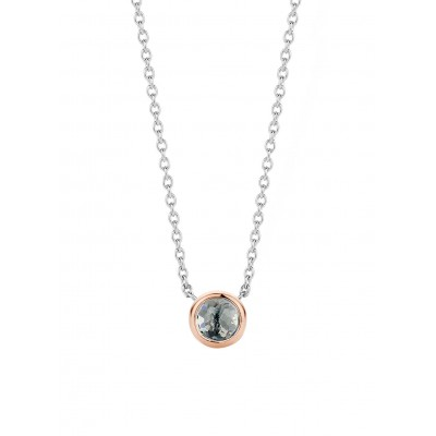 GREY ROSE GOLD PENDANT