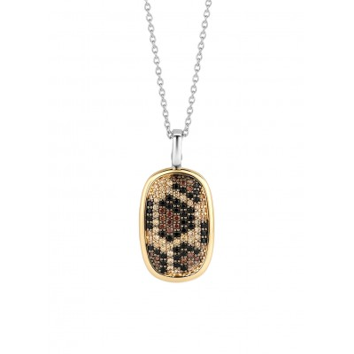 LEOPARD YELLOW PENDANT