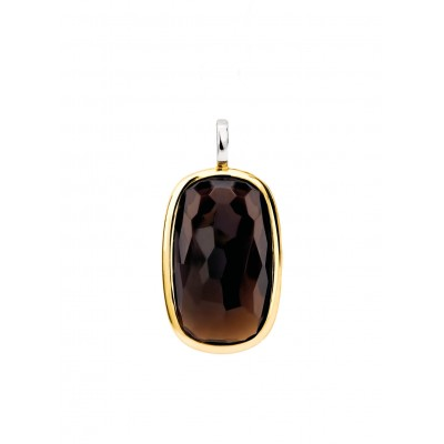 BROWN CRYSTAL PENDANT