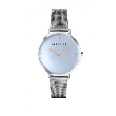 SKY BLUE MILANESE WATCH