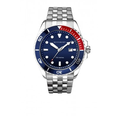 BLUE DIAL SPORTS WATCH