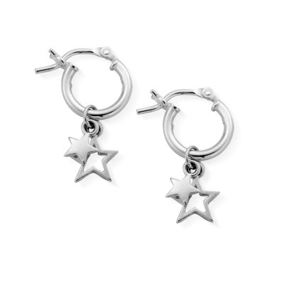 DOUBLE STAR HOOPS