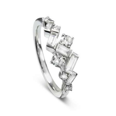 DIAMOND JAZZ RING