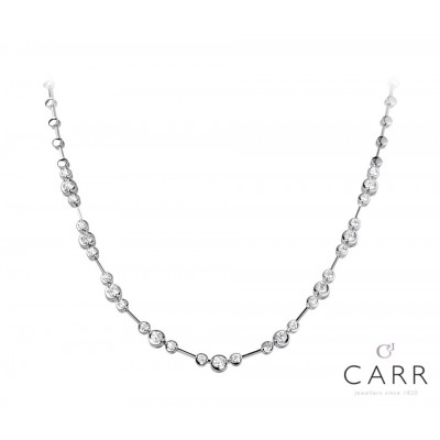 MIRROR SET DIAMOND NECKLET