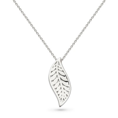 BLOSSOM EDEN LEAF NECKLACE