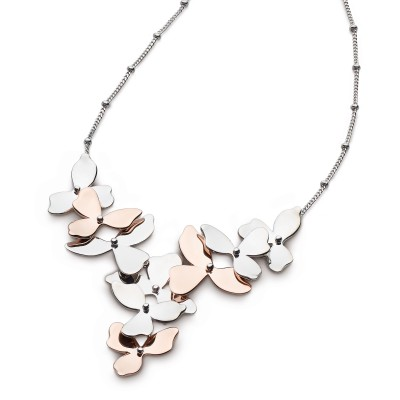 BLOSSOM PETAL BLOOM CLUSTER NECKLACE