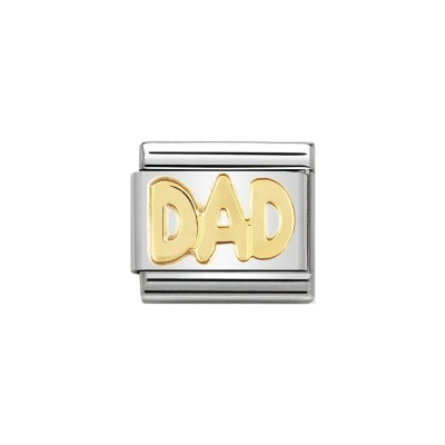 GOLD DAD CHARM