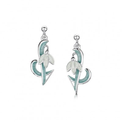 SNOWDROP DROP EARRINGS