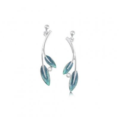 ROWAN SAGE DROP EARRINGS