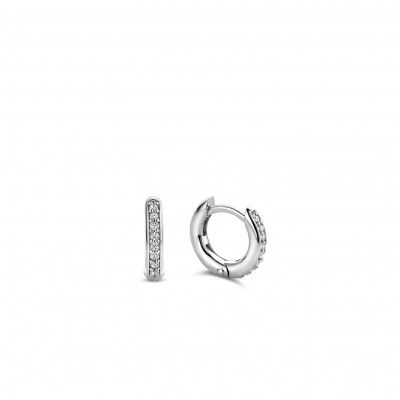 CZ SMALL HOOP EARRINGS