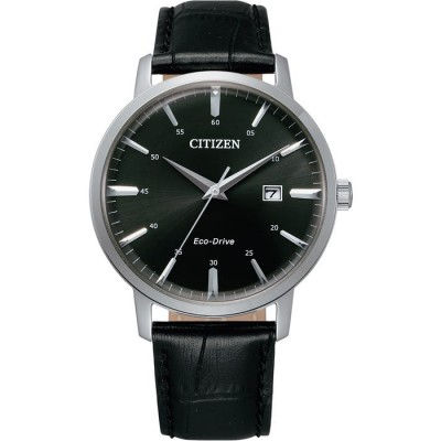 BLACK DIAL LEATHER STRAP