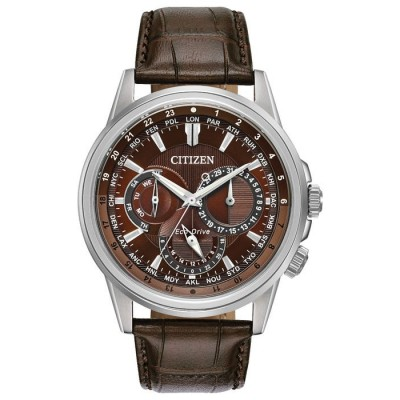 BROWN DIAL CALENDRIER