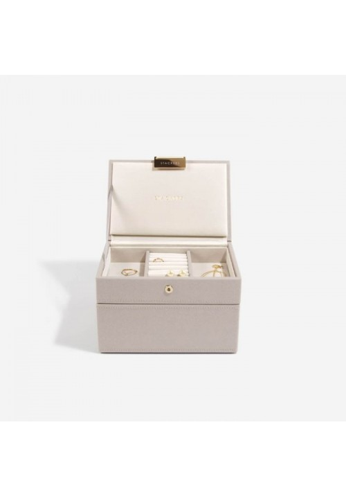 TAUPE MINI JEWELLERY BOX SET
