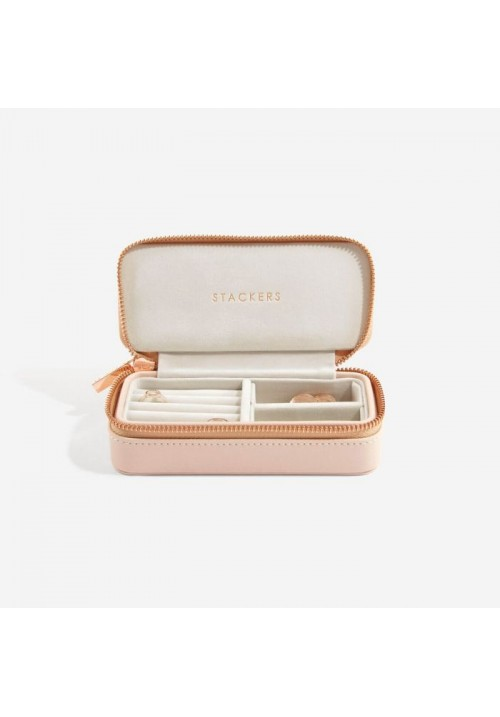 BLUSH MEDIUM TRAVEL JEWELLERY BOX