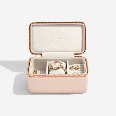 BLUSH DEEP WATCH TRAVEL JEWELLERY BOX