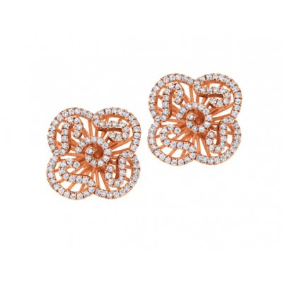 Cascade Stud Earrings