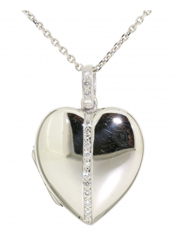 Heart Shaped Diamond Necklace Prices