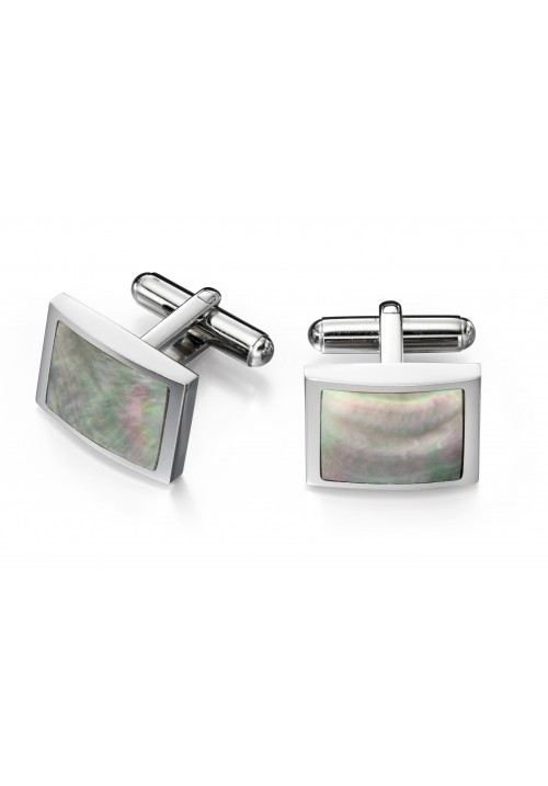 Grey Mother Of Pearl Fred Bennett Cufflinks