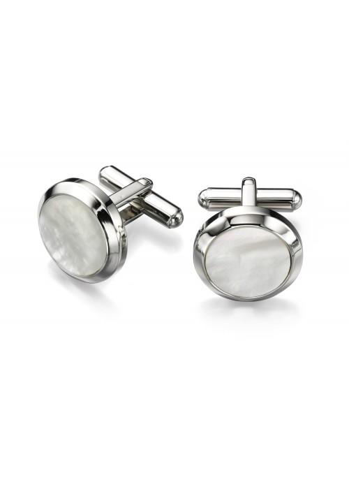 Mother Of Pearl Fred Bennett Cufflinks