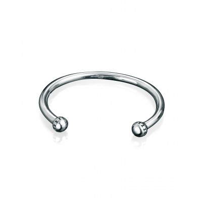 Oxidised Silver Fred Bennett Bangle