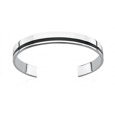 Silver and Resin Fred Bennett Bangle