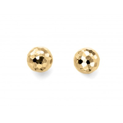 Textured Ball Stud Earrings