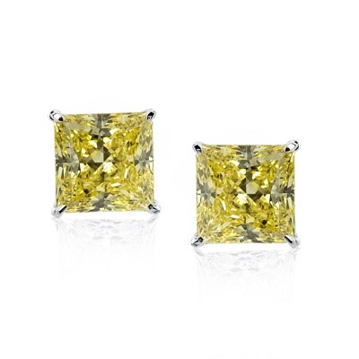 Canary Yellow Studs