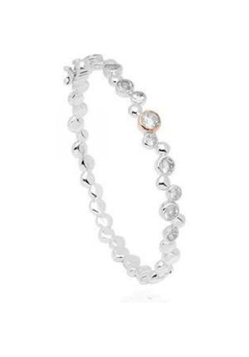 Clogau Celebration White Topaz Bangle