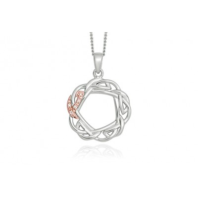 Eternal Love Openwork Diamond Pendant