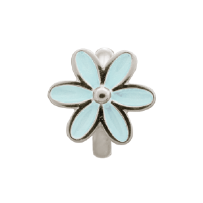 Enamel Flower Charm - Many Colours Available
