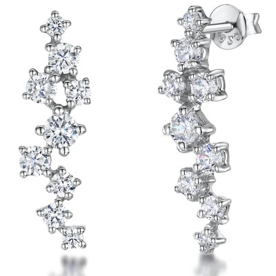 Cascade CZ Earrings