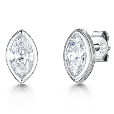 Marquis CZ Earrings