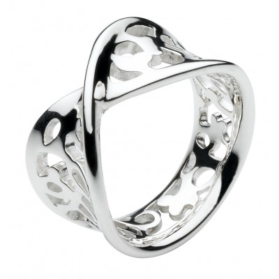 CHUNKY FLOURISH RING