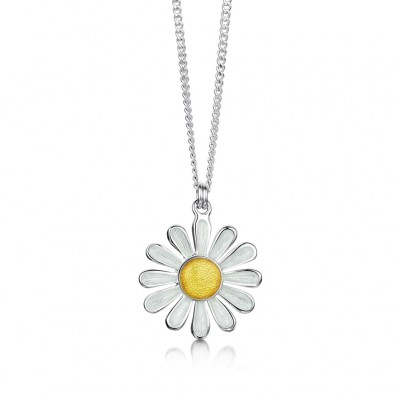 Daisy Pendant and Chain