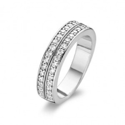 Double Row CZ Ring