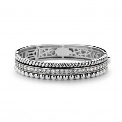 Multi Band CZ Bangle