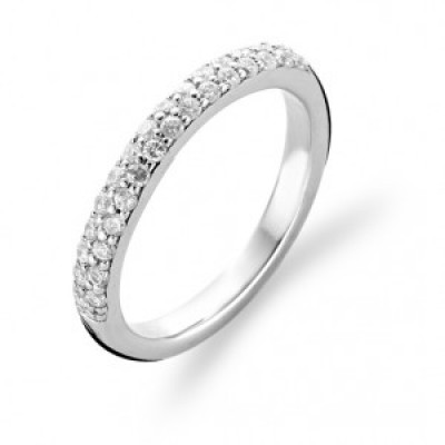 Pavé set CZ Ring