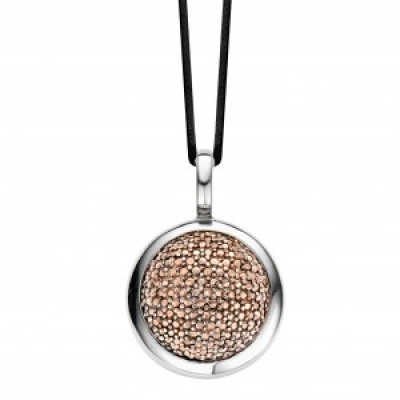 Rose Gold Plated Bobble Pendant