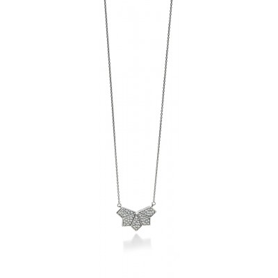 CZ Triangles Necklace