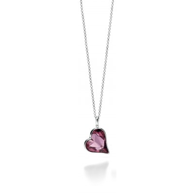 Large Heart Swarovski Crystal Necklace