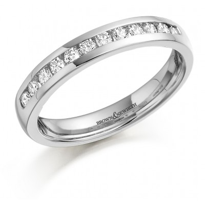 Diamond Set Wedding Ring