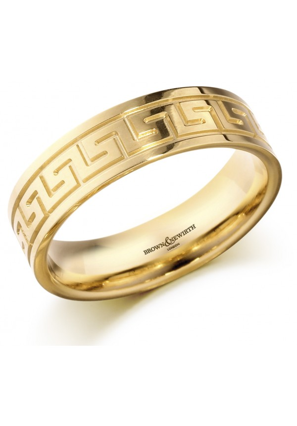 greek ring key gold band a rings categories detail wedding