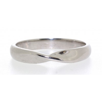 SHAPED TWIST WEDDING RING